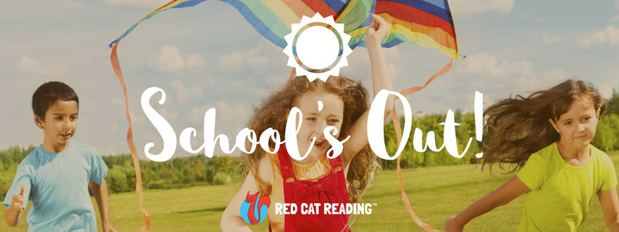 Red Cat Reading End of the School Year Fun Activities Blog Banner
