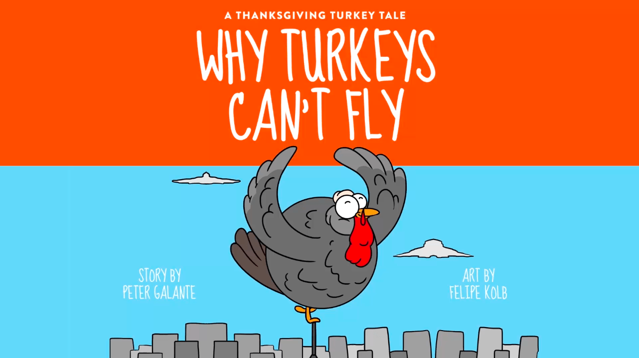 Red Cat Reading Kids vs Life Why Turkeys Can't Fly Video