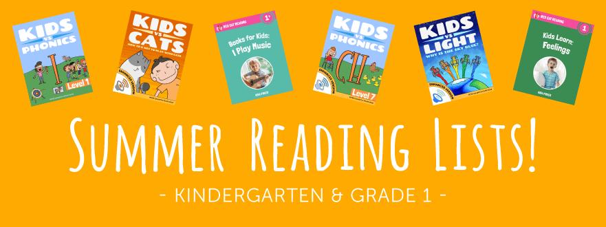 Summer Reading List For Kindergarten And Grade 1