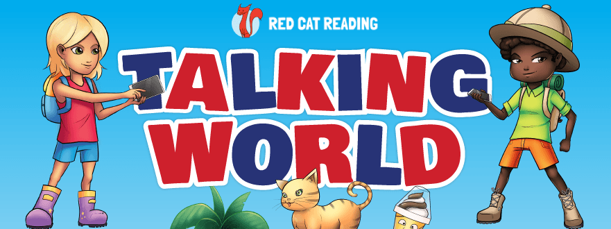 Red Cat Reading Talking World Kids Learn Languages Fast