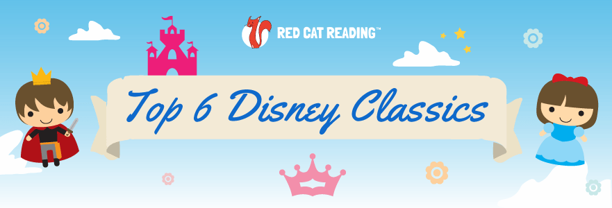 Red Cat Reading Top 6 Disney Classics – Reading for Kids