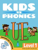 Red Cat Reading Kids vs Phonics UE Sound