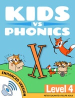 Red Cat Reading Kids vs Phonics X Sound