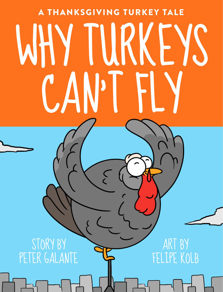 Red Cat Reading Kids vs Life Why Turkeys Can't Fly Book