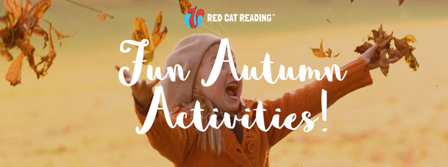 Red Cat Reading fun autumn activities