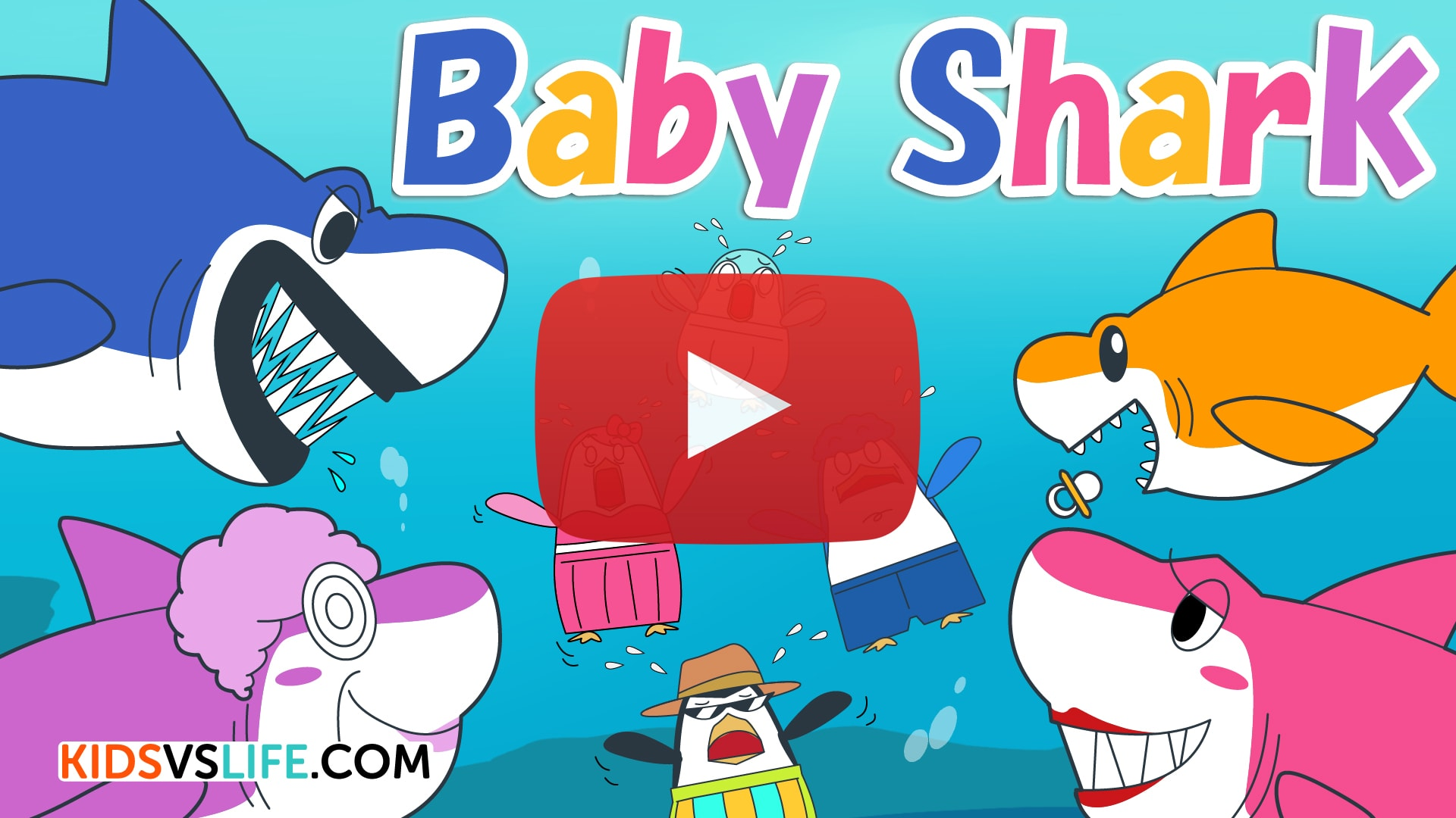 Baby Shark video Black Friday Red Cat Reading