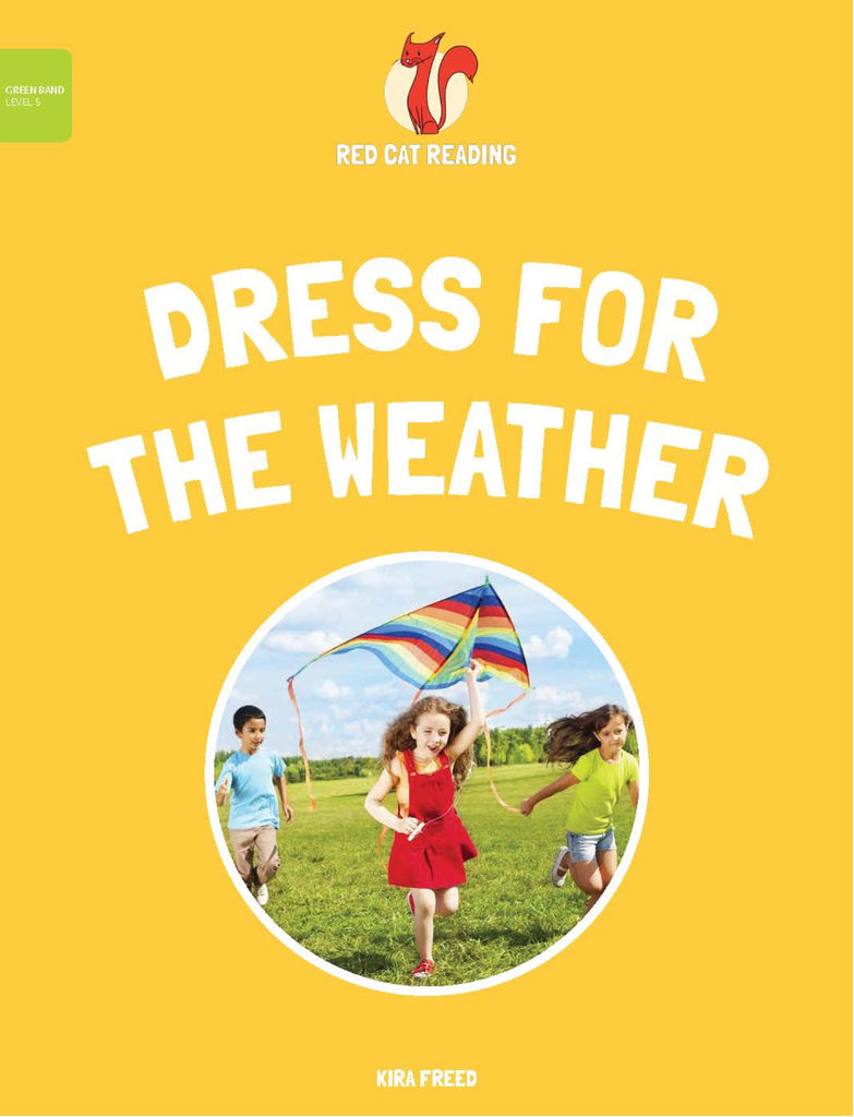 Red Cat Reading Level 5 Dress for the Weather Book