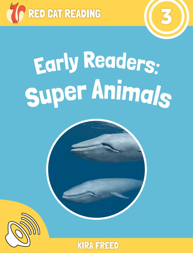 Red Cat Reading Level 3 Super Animals Book