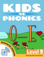 Red Cat Reading Kids vs Phonics Magic E O_E Sound