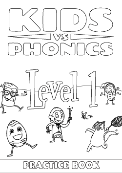 Red Cat Reading Kids vs Phonics Level 1 Worksheet
