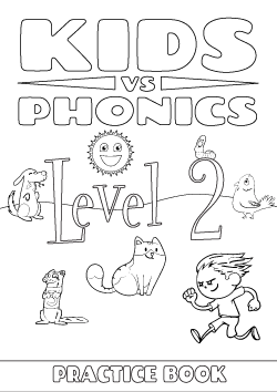 Red Cat Reading Kids vs Phonics Level 2 Worksheet