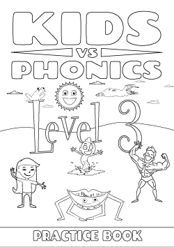 Red Cat Reading Kids vs Phonics Level 3 Worksheet