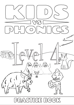 Red Cat Reading Kids vs Phonics Level 4 Worksheet