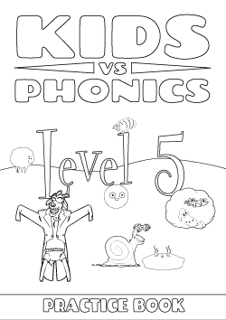Red Cat Reading Kids vs Phonics Level 5 Worksheet