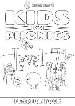 Red Cat Reading Kids vs Phonics Level 7 Worksheet