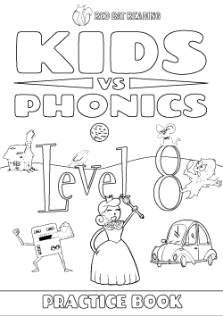 Red Cat Reading Kids vs Phonics Level 8 Worksheet