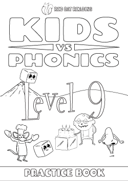 Red Cat Reading Kids vs Phonics Level 9 Worksheet