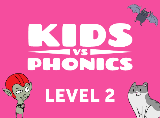Red Cat Reading Kids vs Phonics Level 2 Kids Learn to Read the fast and fun way