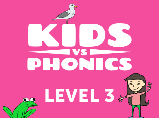 Red Cat Reading Kids vs Phonics Level 3 Kids Learn to Read the fast and fun way