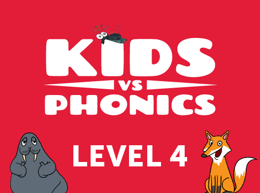 Red Cat Reading Kids vs Phonics Level 4 Kids Learn to Read the fast and fun way