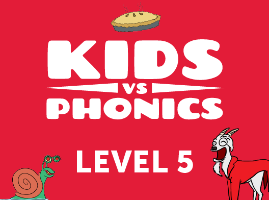 Red Cat Reading Kids vs Phonics Level 5 Kids Learn to Read the fast and fun way