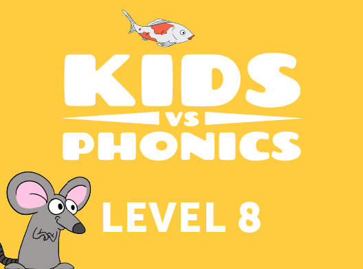 Red Cat Reading Kids vs Phonics Level 8 Kids Learn to Read the fast and fun way