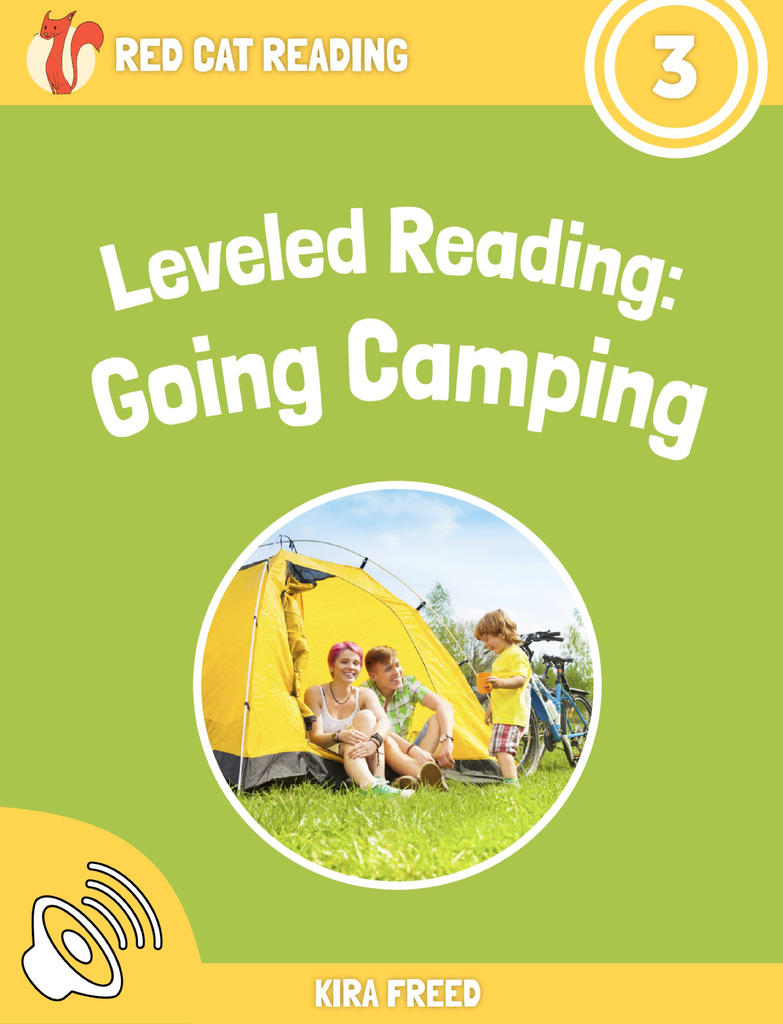 Red Cat Reading Level 3 Going Camping Book