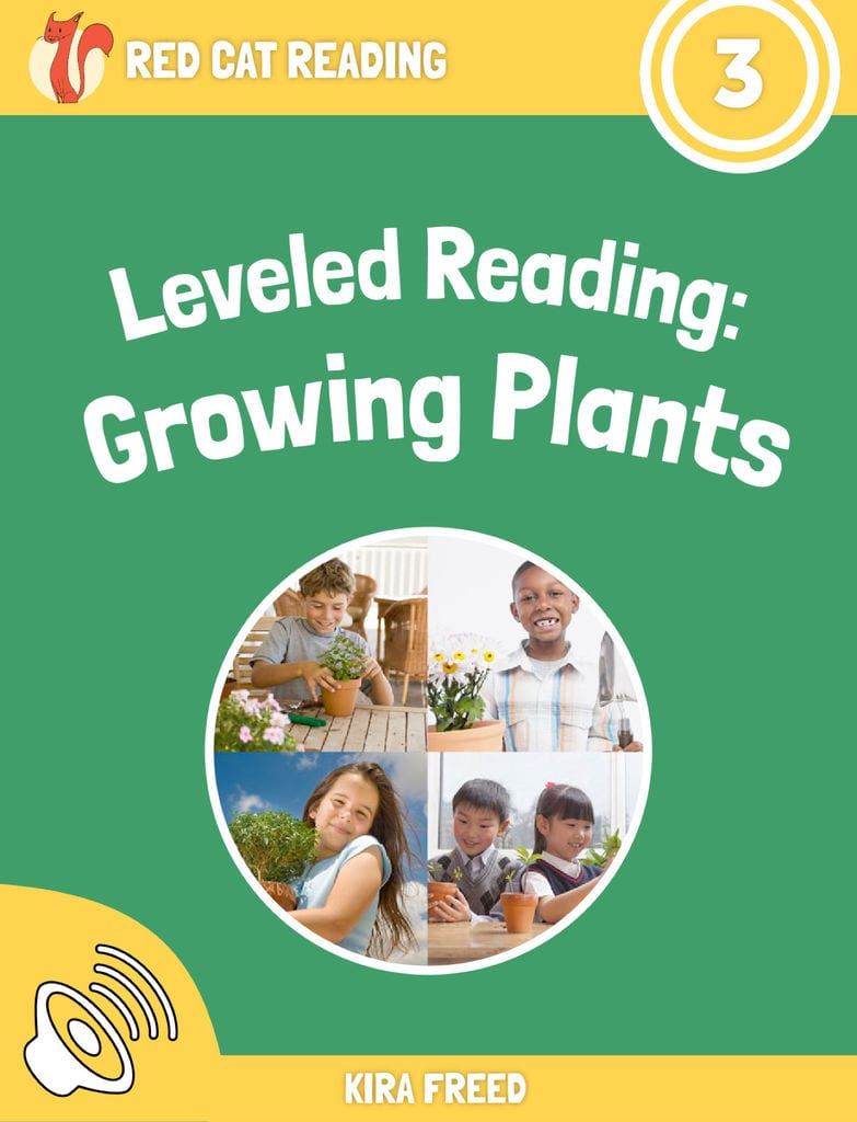 Red Cat Reading Level 3 Growing Plants book