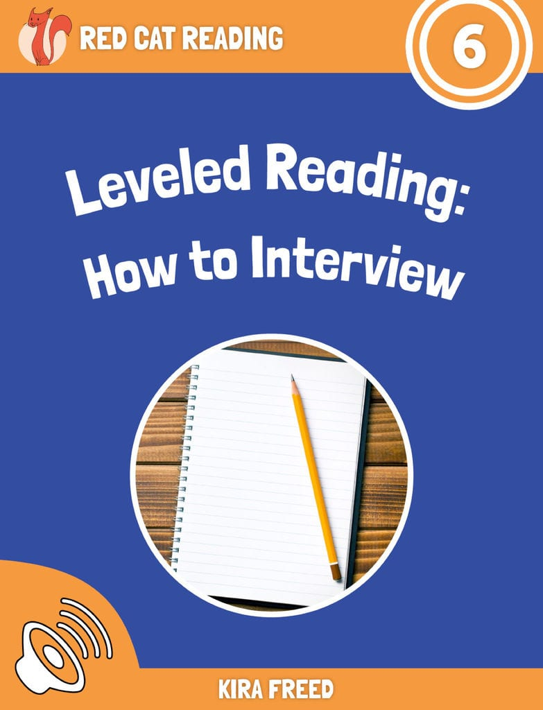 Red Cat Reading Level 6 How to Interview Room