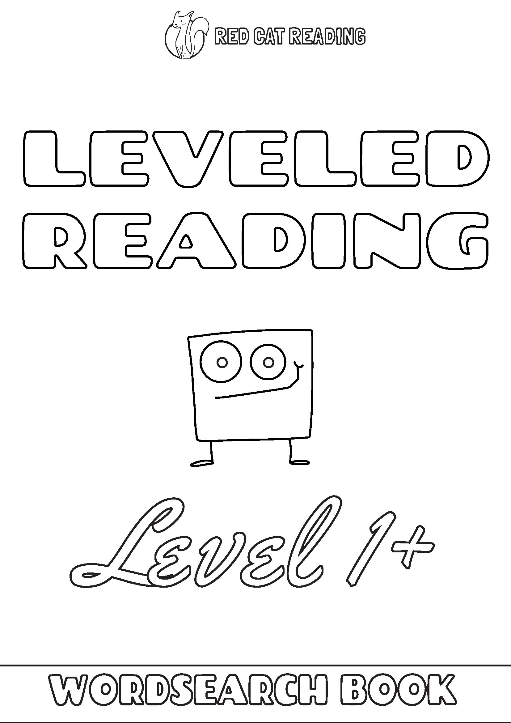 Red Cat Reading Leveled Reading Level 1+ Worksheet