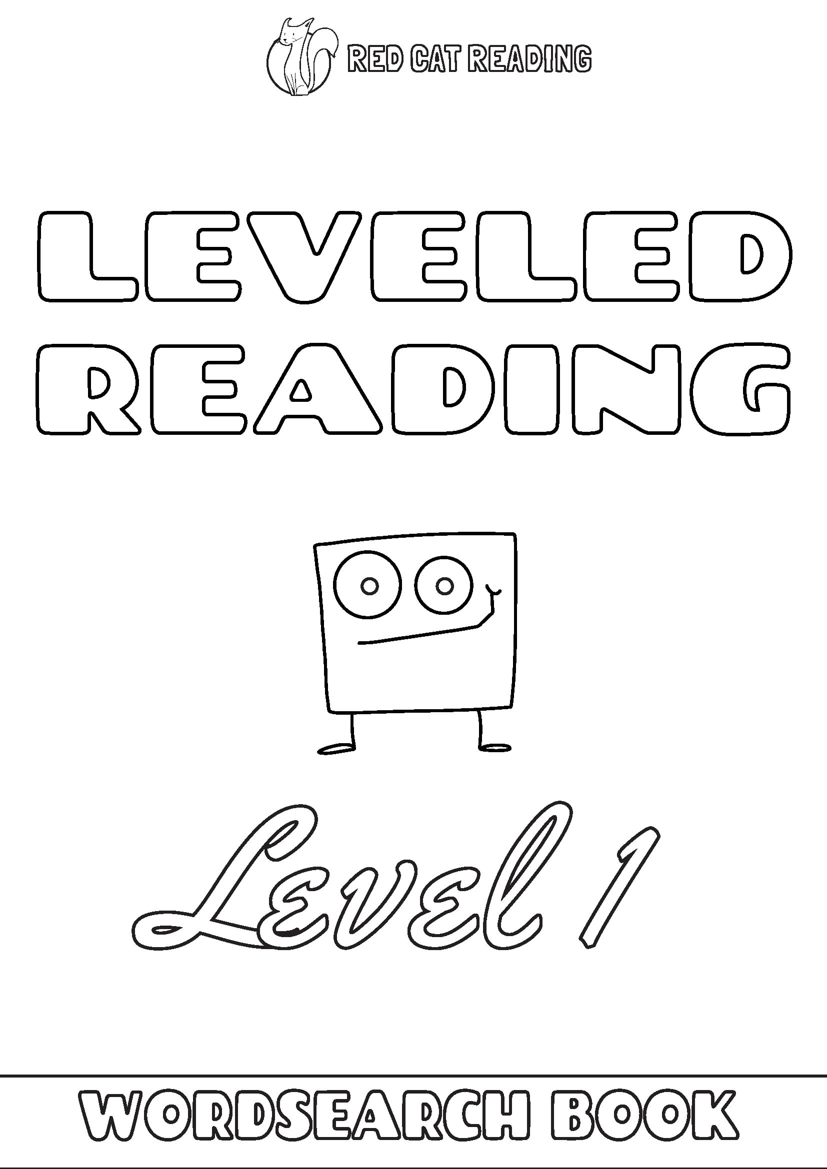 Red Cat Reading Leveled Reading Level 1 Worksheet
