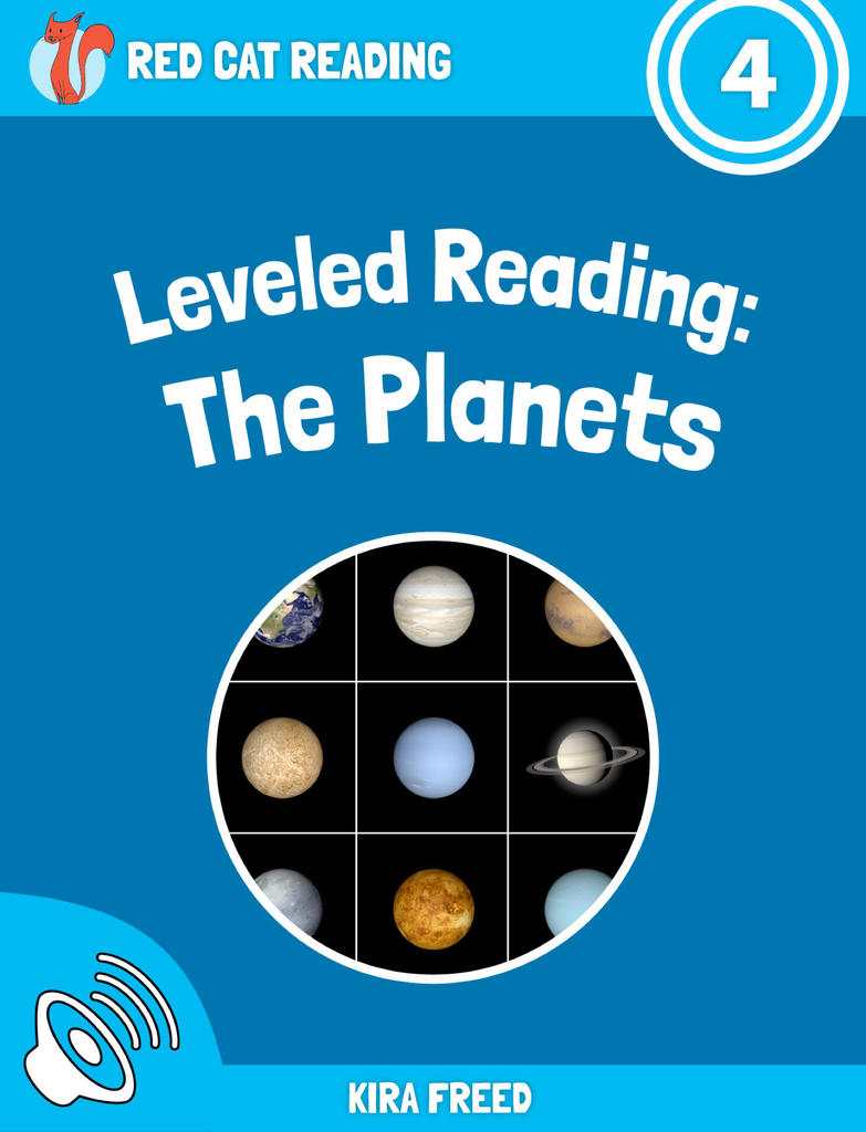 Red Cat Reading Level 4 The Planets Book