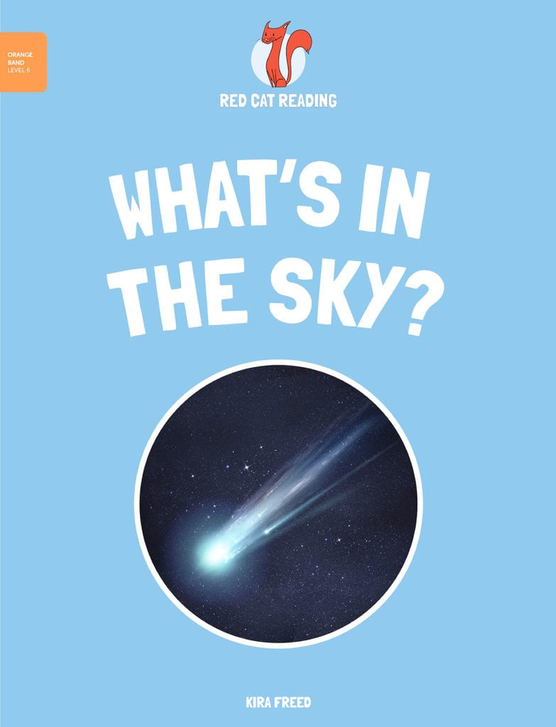 Red Cat Reading Level 6 What's in the Sky Book