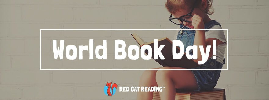 Celebrate World Book Day - Red Cat Reading